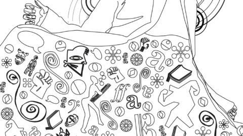 A vos crayons, feutres, pastels………