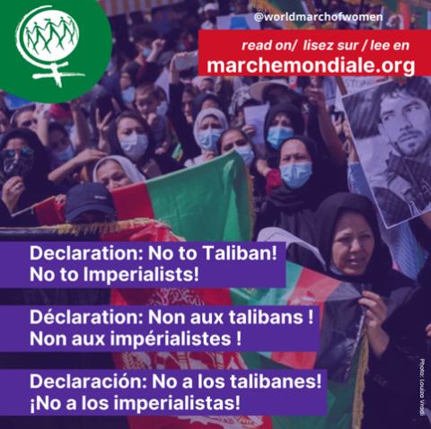 Communiqué de la Marche Mondiale des Femmes